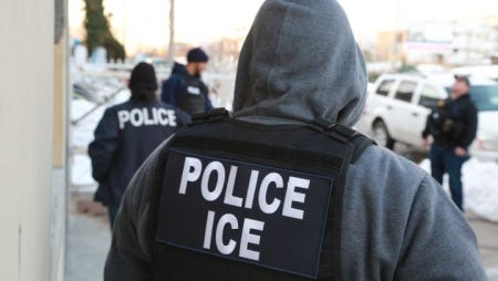 ICE arrested convicted criminal aliens and fugitives in an enforcement operation throughout all 50 states. 33 undocumented immigrants were apprehended in Arizona as part of the nationwide crackdown.