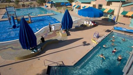 The Eldorado Aquatic and Fitness Center in Scottsdale was the site of a body recovery effort by police on Aug. 17, 2020.