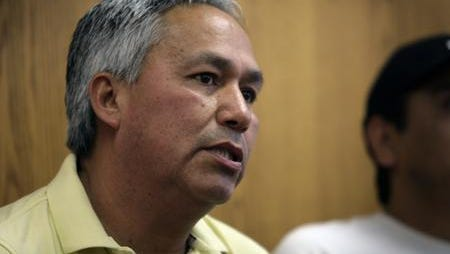 Mexican journalist Emilio Gutierrez Soto speaks in 2008 about seeking political asylum in the United States.