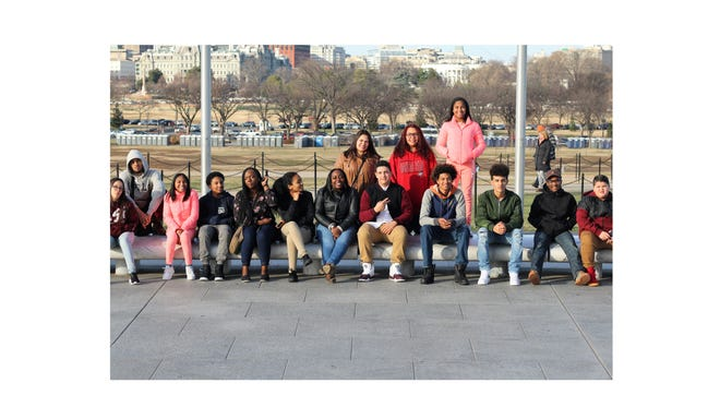 Some members of the Boys & Girls Club of Vineland visited the National Museum of African American History and Culture on the National Mall in Washington, D.C.