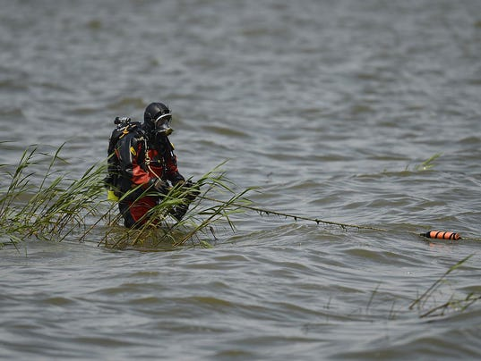 GPG GBPD dive team search for evidence