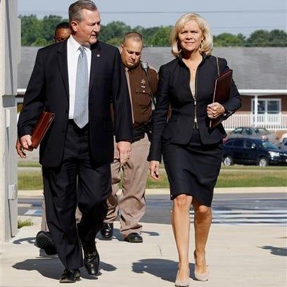 Alabama speaker Mike Hubbard with wife Susan Hubbard