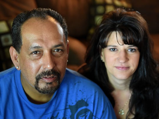 Fabian and Deanna Gonsalez, brother and sister-in-law of David Gonsalez.