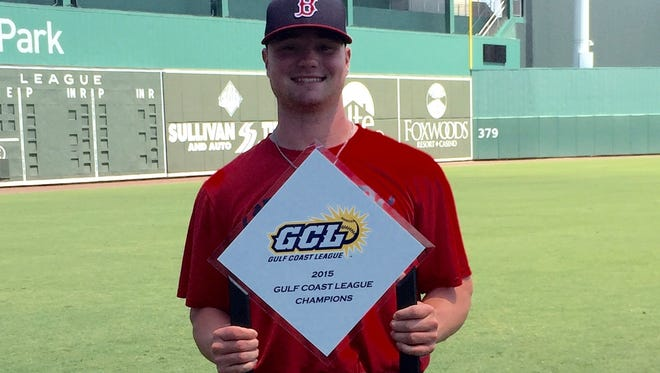 Fletcher's Logan Allen is a pitcher in the Boston Red Sox organization.