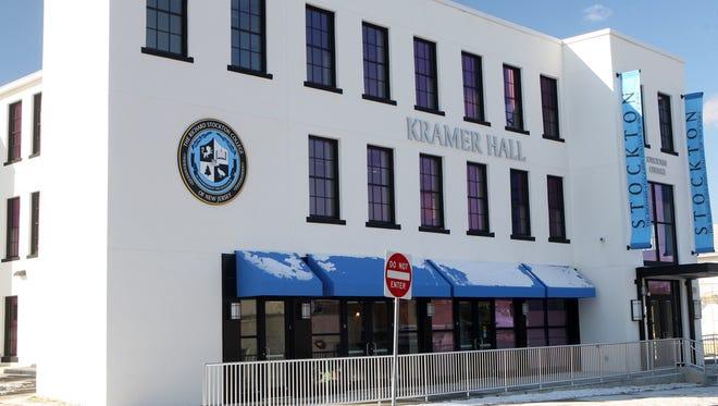 Stockton University opened Kramer Hall in Hammonton in 2013. Stockton development is a key piece of a blueprint for Atlantic County growth.