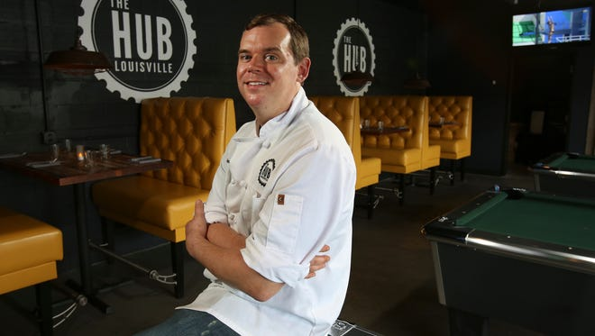 Jeff Brantley is the head chef at The Hub. Aug. 16, 2016