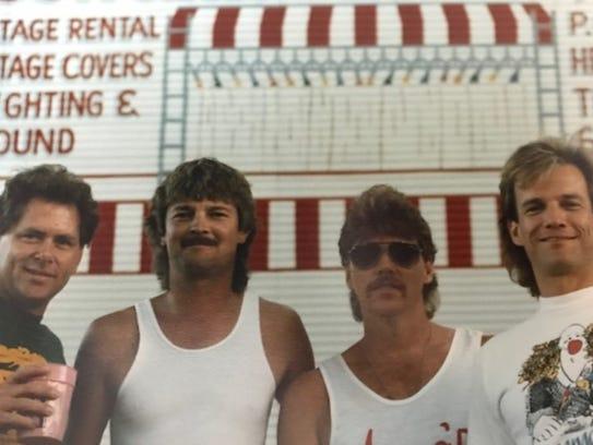 The Lusters, from left:  Mickey Foellger, Scott Sprague,