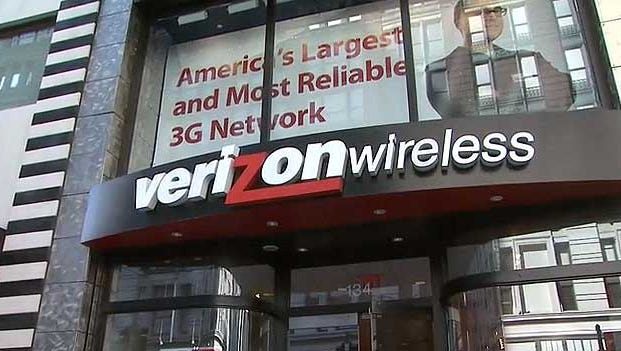 In one of the largest acquisition deals ever, Vodafone said Monday it sold its 45% stake in Verizon Wireless to Verizon Communications.