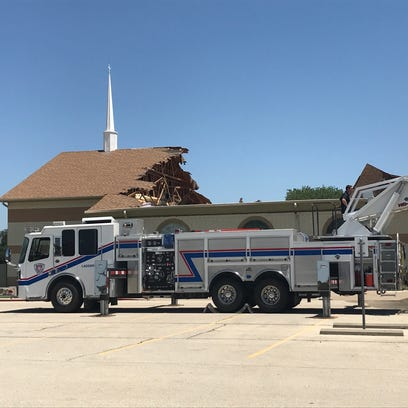 San Angelo church roof collapses in 'catastrophic failure'