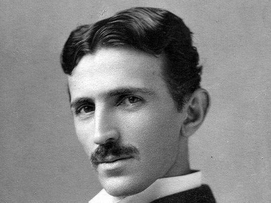 Celebrated inventor Nikola Tesla