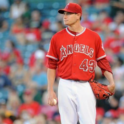 September 30, 2015: Los Angeles Angels starting pitcher