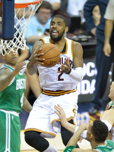 Kyrie Irving poured in a game-high 30 points in his