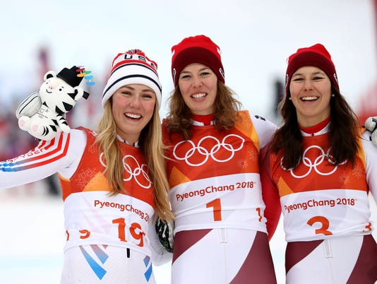 USP OLYMPICS: ALPINE SKIING-WOMENS ALPINE COMBINED S OLY KOR