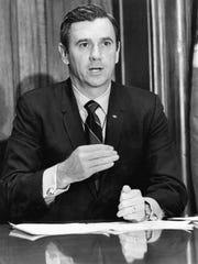 Florida Governor Reubin Askew in 1971.