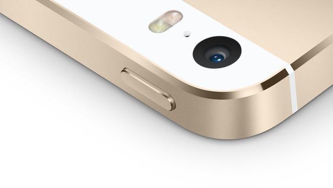Apple's iPhone 5S.