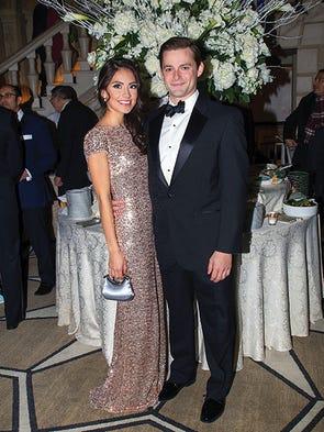 Erika Dalgo and Brendan Maron. Dalgo sparkles and shines