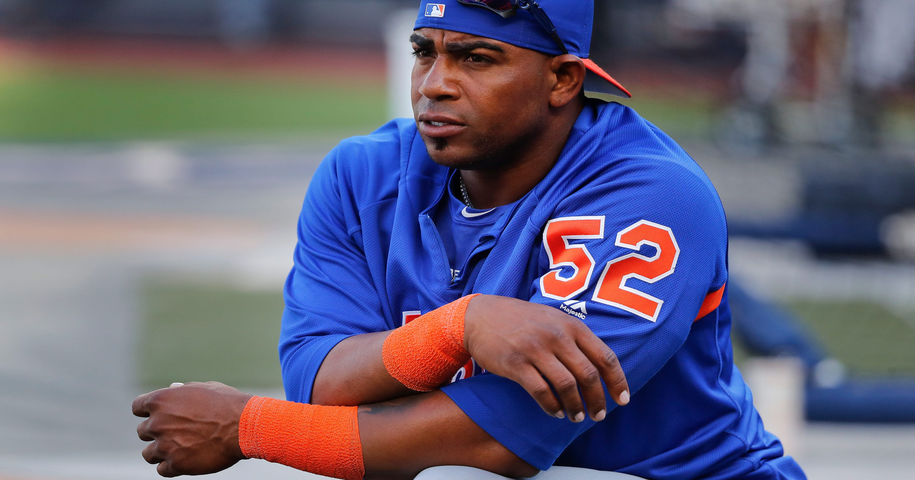 size 40 c7a66 58232 Mets OF Yoenis Cespedes to have surgery on both heels