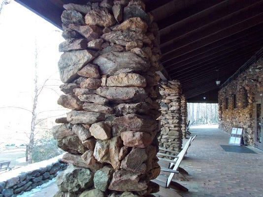 CCC stonework