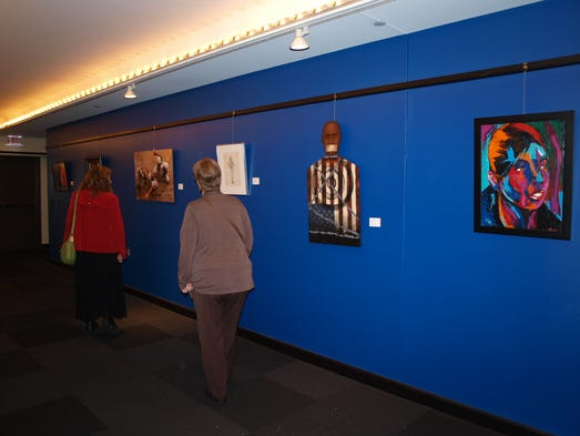 D View Of Exhibition : African american art show has significant history