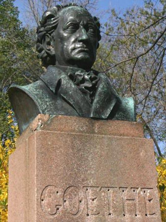 Goethe Bust 4