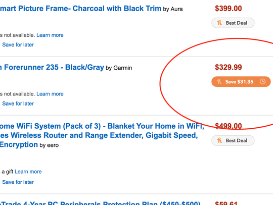 Amazon's version of a Doorbuster are Lightning deals.