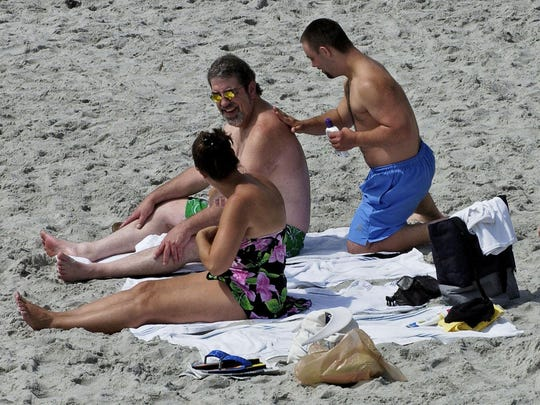 Sunbathers, especially those from out of state, may not realize the severity of the sun's role in skin cancer.