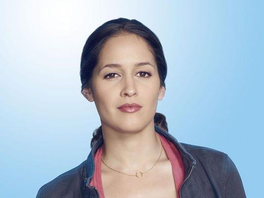 Actress Jaina Lee Ortiz, who stars as Detective Annalise