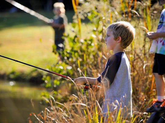 Buncombe County Recreation Services will host a kids fishing tournament April 16 at Owen Park in Swannanoa.