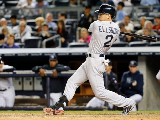 Jacoby Ellsbury has a career .431 slugging percentage at the new Yankee Stadium.