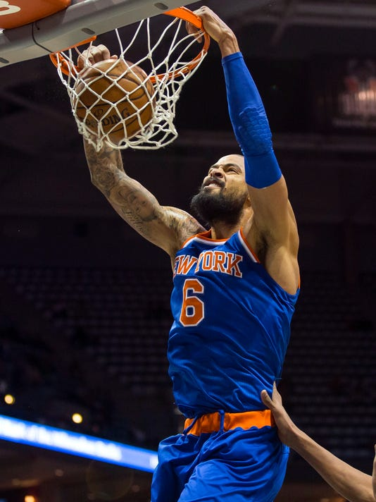 17597be8e20 Tyson Chandler returns as Knicks beat Bucks in 2OT