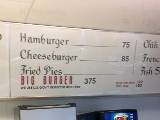 You can still get a small Scotties hamburger for just 75 cents.