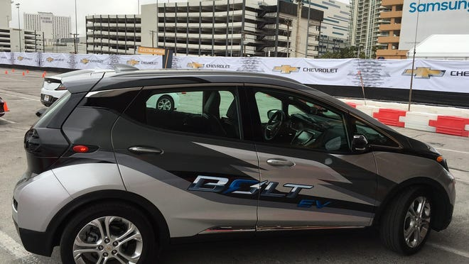 """""""We think we're making something that brings electric cars to the masses,"""" GM's Pamela Fletcher says of the Bolt."""