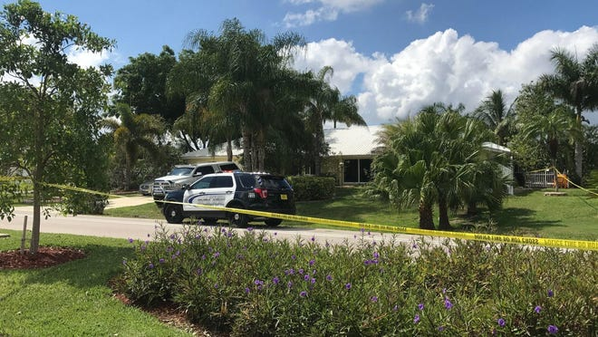 A home at 1914 Cornwallis Parkway in Cape Coral is cordoned off by police tape after reports of a shots fired. One person was taken to the hospital.