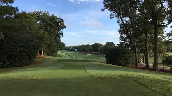 Inside the brutal 18th hole that could decide the PGA Championship