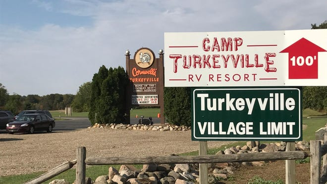Cornwell's Turkeyville U.S.A., in Marshall, less than an hour's drive from the capital just off Interstate-69, is the kind of low-key, low-cost family fun that is charming and kitschy.