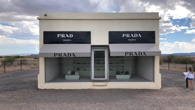 A stop by the Prada Marfa art installation is a must for visitors to the Marfa area.