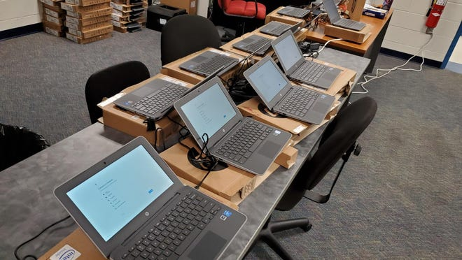 Lake County students will all be given a Google Chromebook to help with school this year, free of charge, the district announced Wednesday. [Submitted]