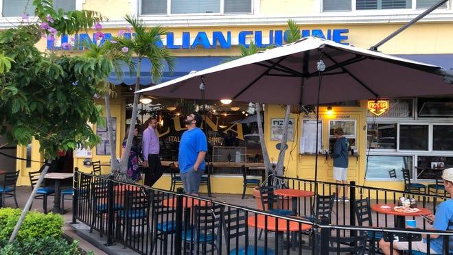Luna Italian Cuisine is a landmark in downtown Stuart, serving food for almost three decades. Their garlic rolls are legendary.