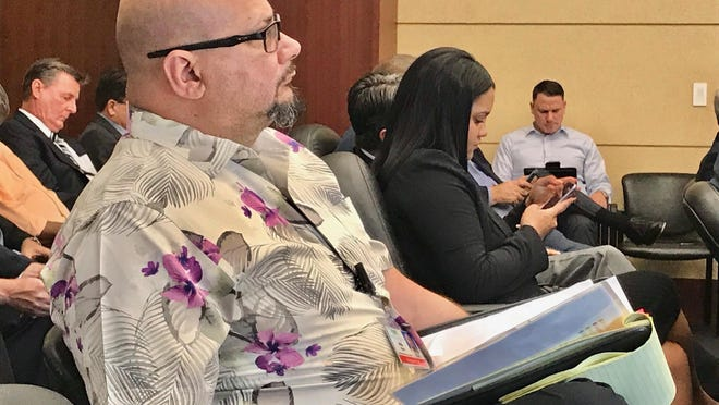 Despite the controversies, the security firm represented by Willie Perez, regional director of Professional Security Concepts, ranked second before a West Palm Beach selection committee Wednesday.