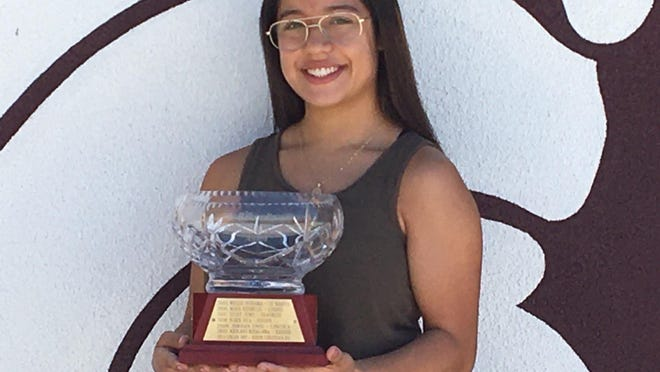 Edison High School graduate Laura Campos is the 2020 Charles Washington Award recipient. She is attending UCLA in the Fall.