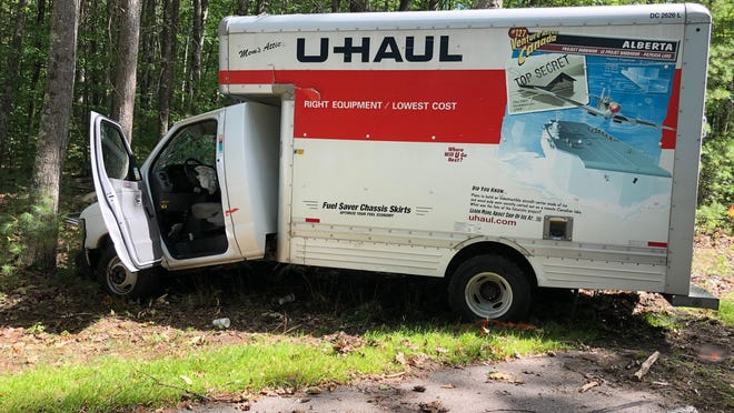 One person was killed and two others injured in a single-vehicle crash involving a U-Haul truck Saturday in Rochester.