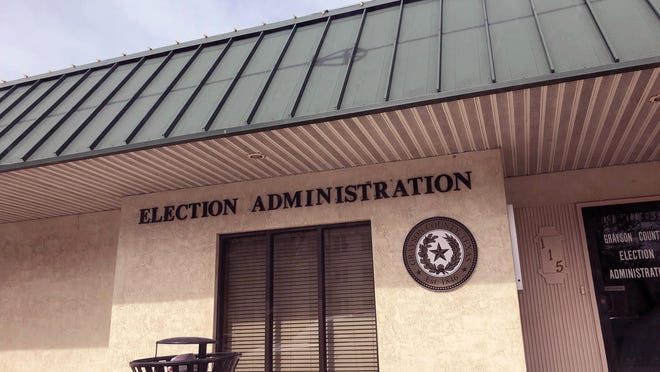 Grayson County Elections Administrator Deana Patterson is expected to address county leaders Tuesday at the Commissioners Court meeting at the Grayson County Courthouse in Sherman.