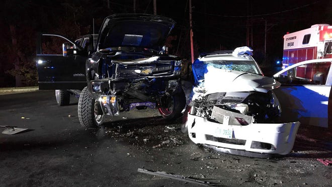 Rochester police say a married couple from Barrington were killed when their 2010 Dodge Journey collided with a 2017 Chevrolet Silverado at the intersection of Washington Street and Fillmore Boulevard at about 9:15 p.m. on Sept. 19.