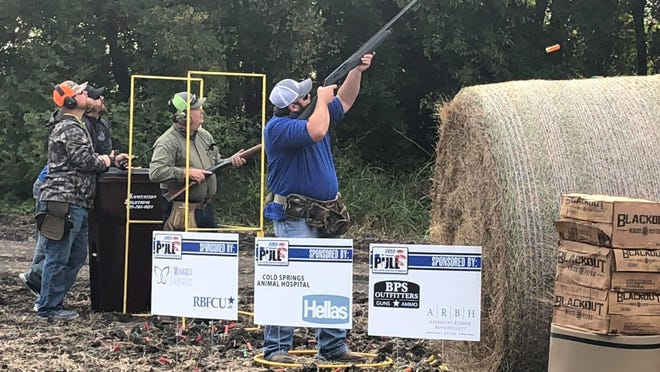 The eighth annual Van Alstyne Education Foundation Clay Classic, held on Oct. 3, drew upward of 120 participants who converged to shoot skeet and enjoy an old-fashioned fish fry. The event raised $20,000 for the foundation, which will be used to fund student scholarships and teacher grants.