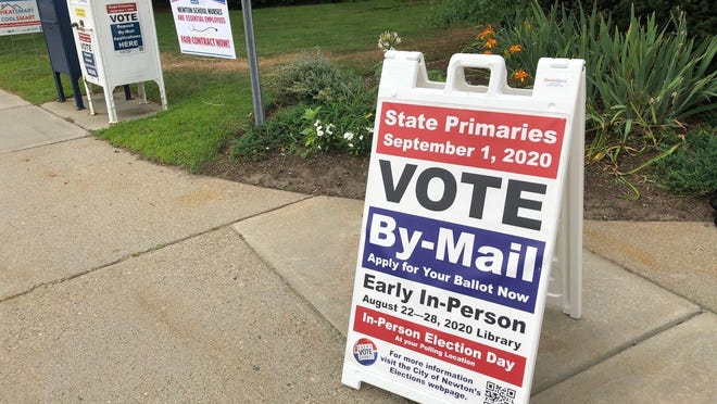 "A spokesperson for Secretary of State William Galvin's office said voters are not required to return their ballots by mail to meet the Sept. 1 deadline. ""Voters also have the option of hand-delivering a ballot to their local election office, drop-box, or any early voting location,"" the spokesperson said."