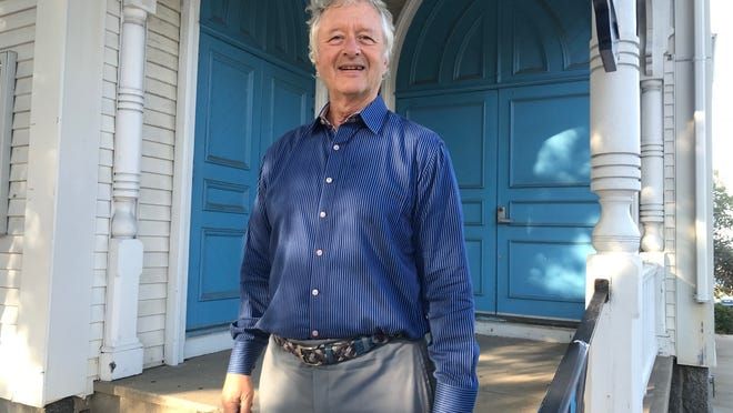 The Greater Plymouth Performing Arts Center Inc. President Bob Hollis, whose nonprofit manages The Spire Center for Performing Arts, said he's delighted the venue can reopen. Hollis smiled outside The Spire Thursday night.