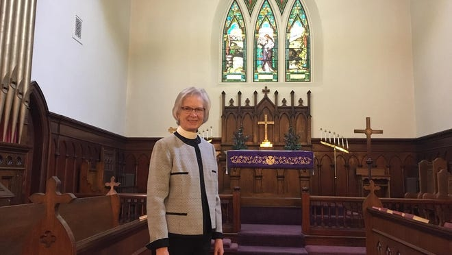 The Rev. Susan H. Lee, rector of St. Luke's Episcopal Church in Fall River.