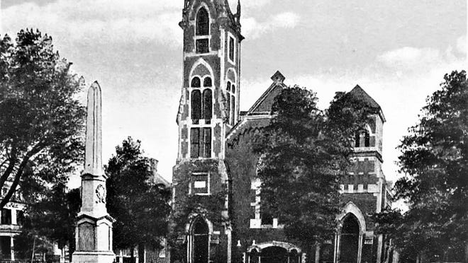 St James Methodist was shaken, but survived the 1886 earthquake.