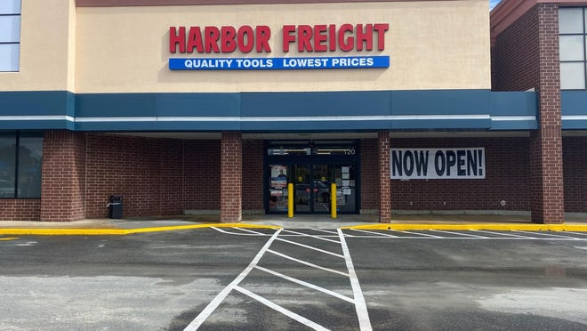 Harbor Freight Tools will open its new Hendersonville store at 8 a.m. Saturday, Oct. 31 at 120 Henderson Crossing Plaza in the former Bi-Lo grocery store space.