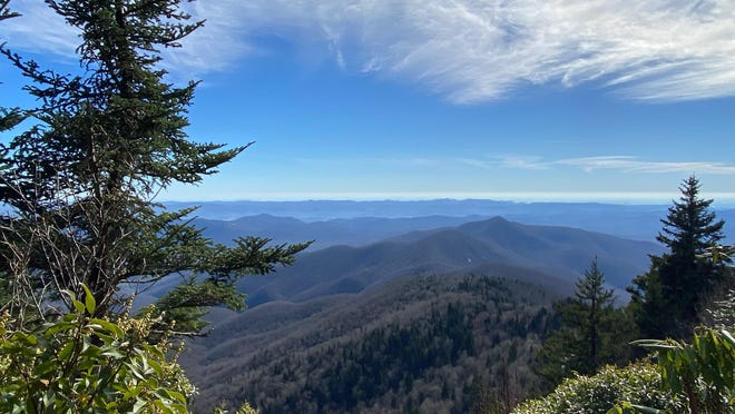A view from the Art Loeb Trail near Black Balsam Nov. 21 near 6,000 feet. A winter storm warning is in effect from Monday morning into Tuesday afternoon for some parts of Western North Carolina and the Tennessee border for those above 3,500 feet.